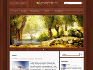 Arboretum Premium Free WordPress Nature Theme