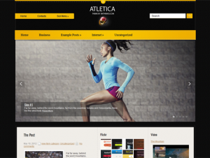 Atletica Free WordPress Sports Theme