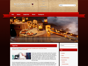 BonAppetit Free Premium WordPress Food Theme