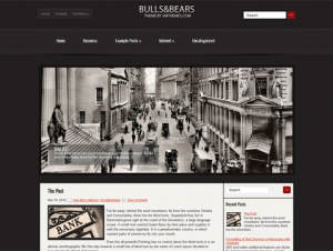 BullsAndBears Free Premium WordPress Business Theme