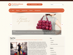 ClothingStore Premium Free WordPress Clothing Theme