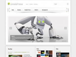 DroidPress Free Premium WordPress Android Theme