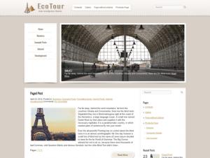 EcoTour Free WordPress Travel Theme