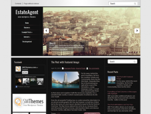 EstateAgent Free WordPress Real Estate Theme