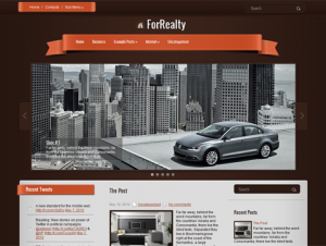ForRealty Free WordPress Real Estate Theme