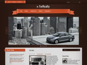 ForRealty Free WordPress Real Estate Theme