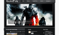 GameFun Premium Free Wordpress Game Theme
