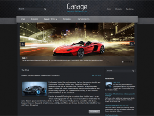 Garage Premium Free WordPress Automotive Theme