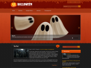 Halloween Free WordPress Halloween Theme