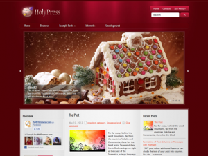 HolyPress Free Premium WordPress Holiday Theme
