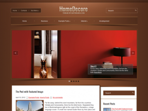 HomeDecore Free Premium WordPress Home Interior Theme