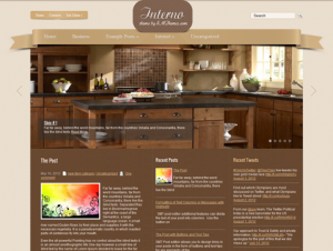 Interno Premium Free WordPress Theme