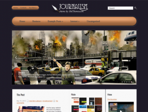 Journalism Free WordPress Journalism Theme