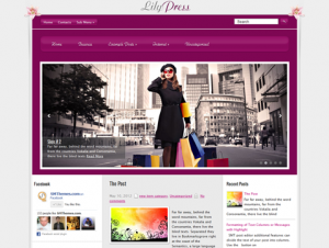LilyPress Free WordPress Fashion Theme