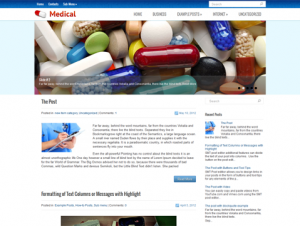 Medical Free WordPress Medical / Pharmacy Theme