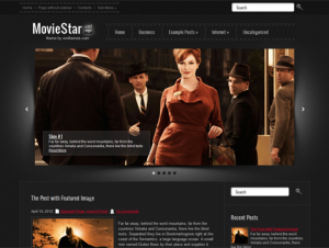MovieStar Free WordPress Movie Theme