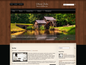 PhotoFolio Free WordPress Photography Theme
