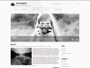Photography Free WordPress Photography Theme