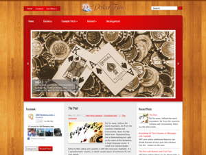 PokerFan Premium Free WordPress Poker Theme