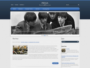 Pressa Premium Free WordPress Theme