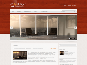 RealEstater Free WordPress Real Estate Theme