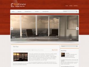 RealEstater Free WordPress Real Estate Theme