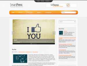 Smartpress Premium WordPress Theme