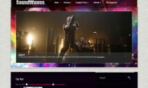 SoundWaves Free Premium WordPress Music Theme