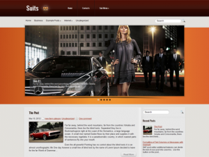 Suits Free WordPress Business Theme