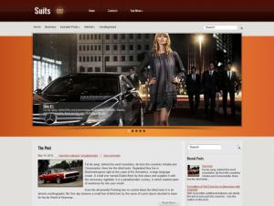 Suits Free WordPress Business Theme