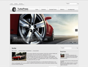 TurboPress Free WordPress Automotive Theme