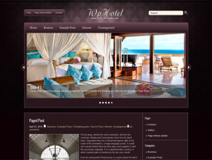 WpHotel Free WordPress Hotel Theme