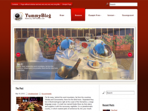 YummyBlog Free Premium WordPress Restaurant Theme