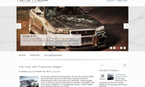 AutoPress Free Wordpress Automotive Theme