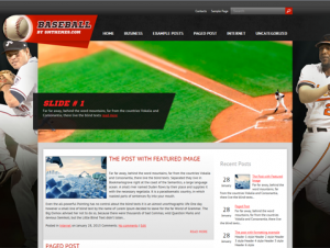 Baseball Free Premium WordPress Sports Theme