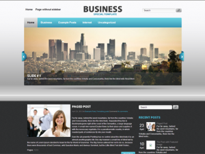 Business Free WordPress Business Theme
