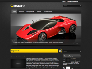 CarStarts Free WordPress Automotive Theme