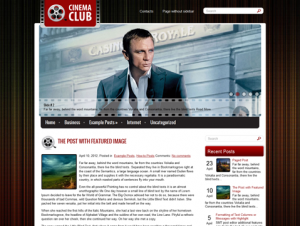 CinemaClub Free WordPress Movie Theme