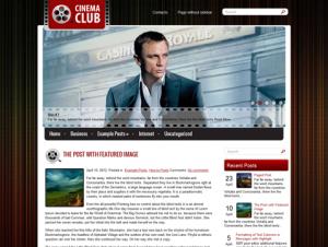 CinemaClub Free WordPress Movie Theme
