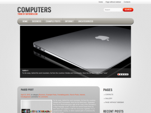 Computers Free WordPress Technology Theme