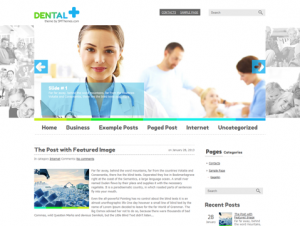 Dental Free WordPress Medical / Dental Theme