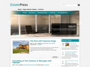 EstatePress Free WordPress Business / Real Estate Theme