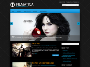 Filmatica Free WordPress Theme