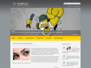 FilmPlus Free WordPress Movie Theme