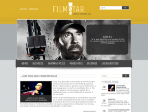 FilmStar Free WordPress Movie Theme