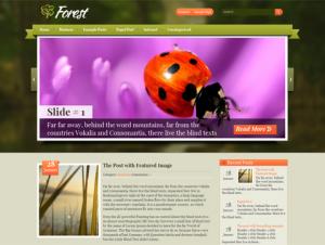 Forest Free WordPress Theme