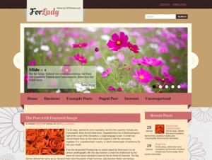 ForLady Free WordPress Theme