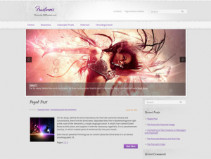 Fruitiness Premium Free WordPress Music Theme
