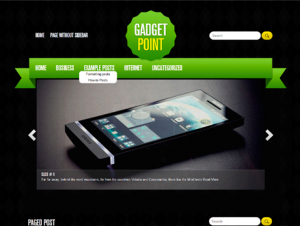 GadgetPoint Free WordPress Technology Theme