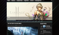 GameCenter Free Wordpress Gaming Theme